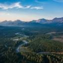 The wild Flathead Valley, BC